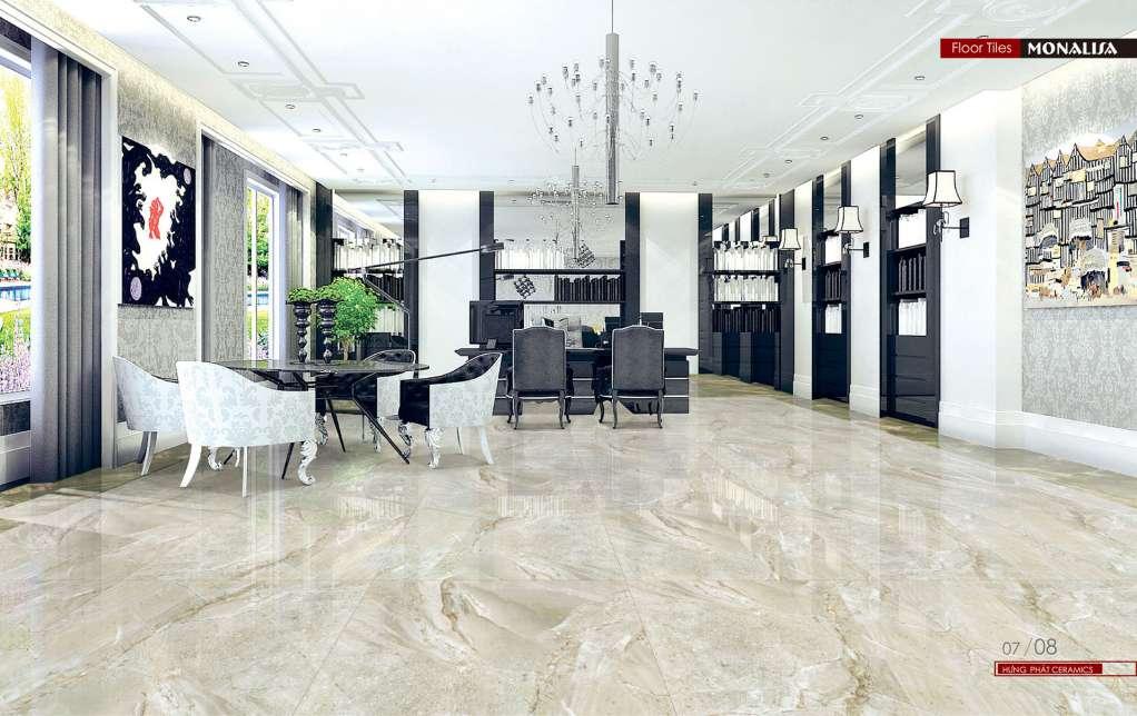 Gạch Ceramic có độ cứng cao, sử dụng cho mọi không gian