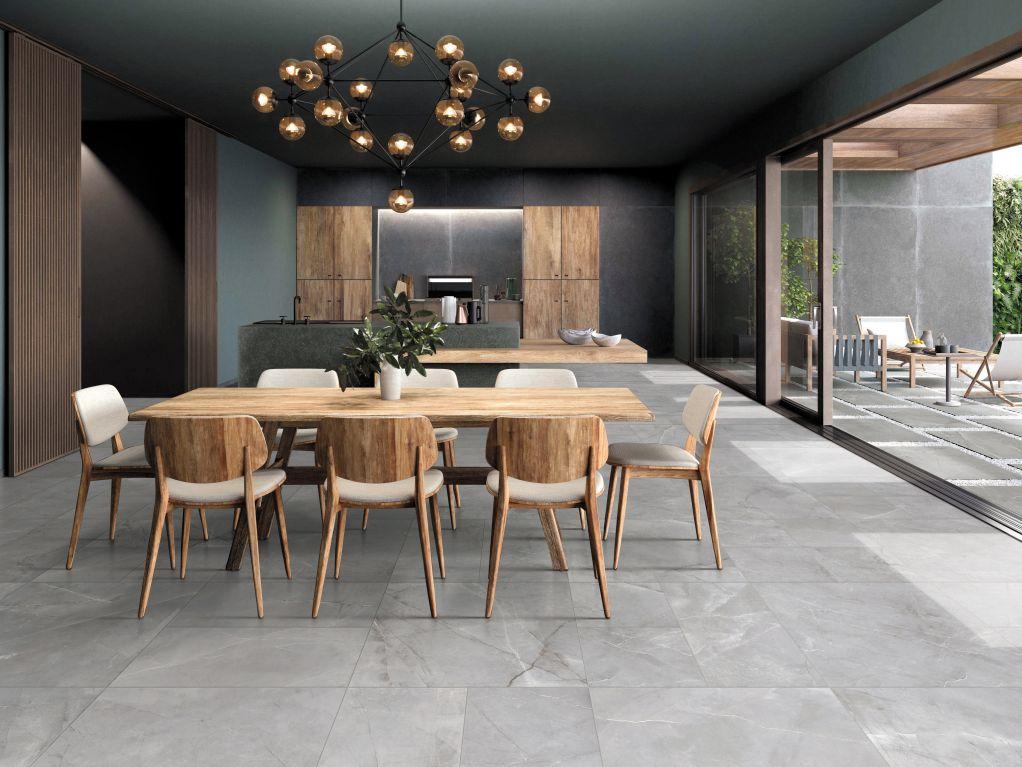 Chọn gạch lát nền phòng bếp để dễ dàng vệ sinh