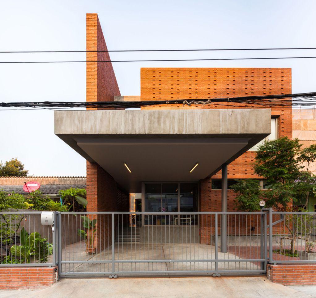 Dự án thiết kế Ngamwongwan House của Junsekino