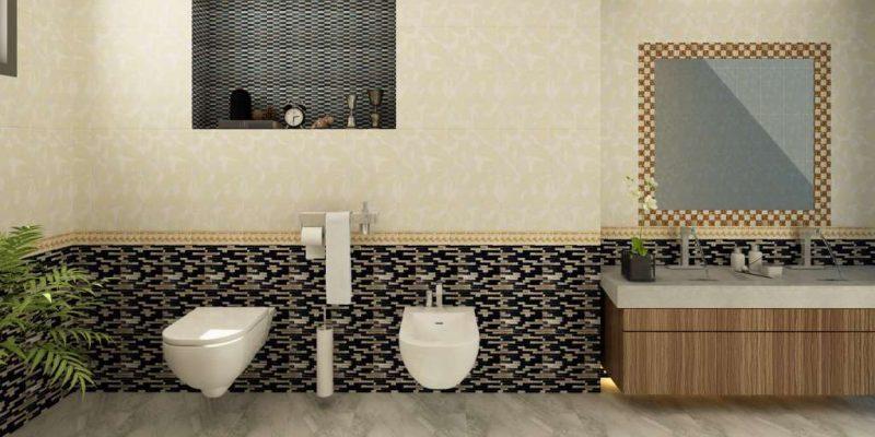 Gạch lát nền phòng tắm chống thấm tốt