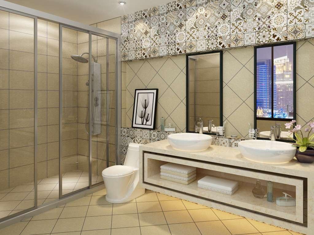 Gạch lát phòng tắm đòi hỏi sự chống trơn trượt tốt