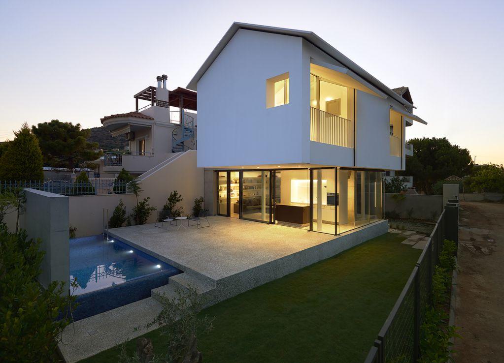 Ngôi nhà được thiết kế linh hoạt với việc sống gần vở biển