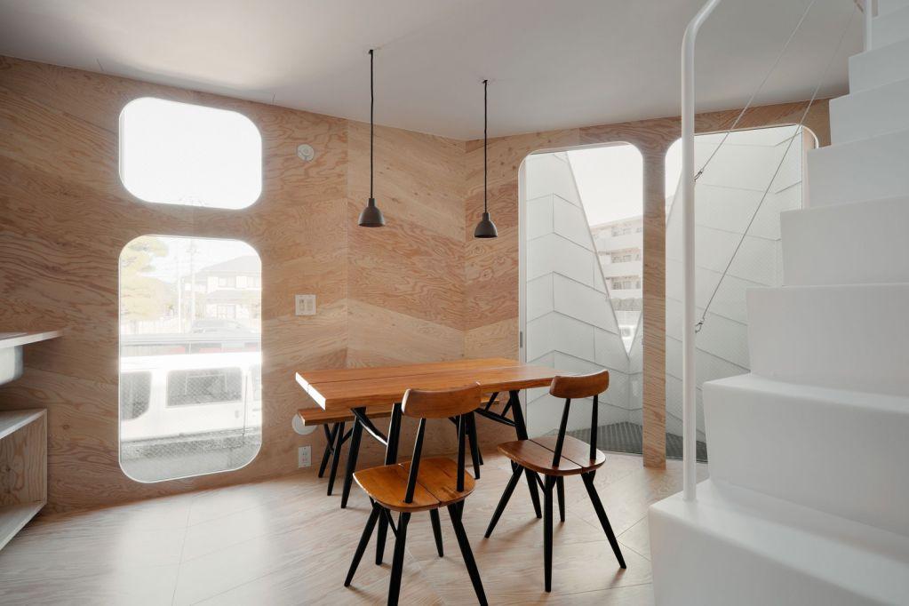 Nội thất gỗ được sử dụng thích hợp với phong cách Nhật Bản