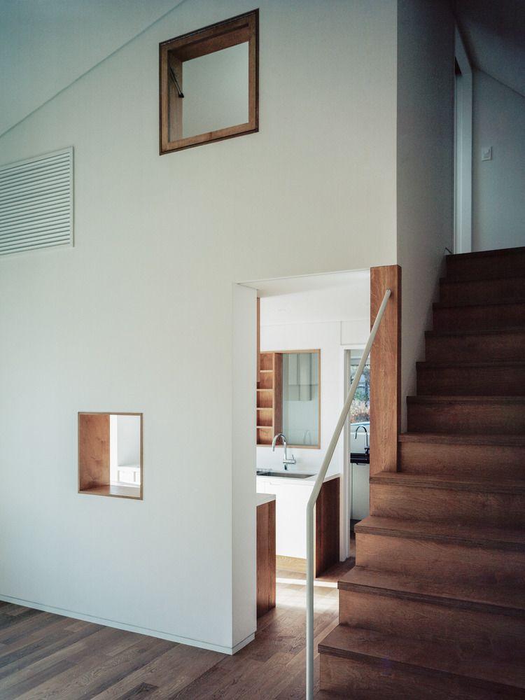 Không gian bên trong thiết kế tập trung vào sự tách biệt