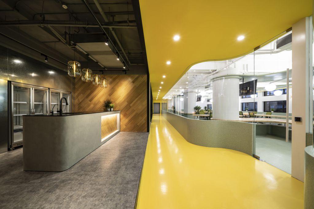 Dự án thiết kế văn phòng Unbot Inc. tại Trung Quốc