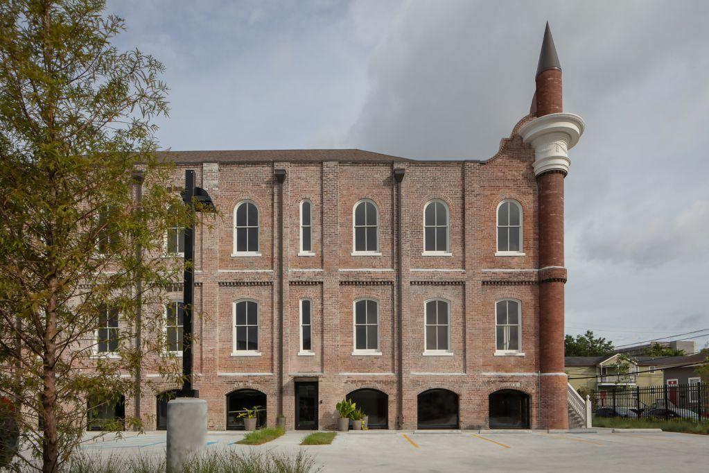 Kiến trúc bên ngoài được khôi phục nguyên bản ban đầu