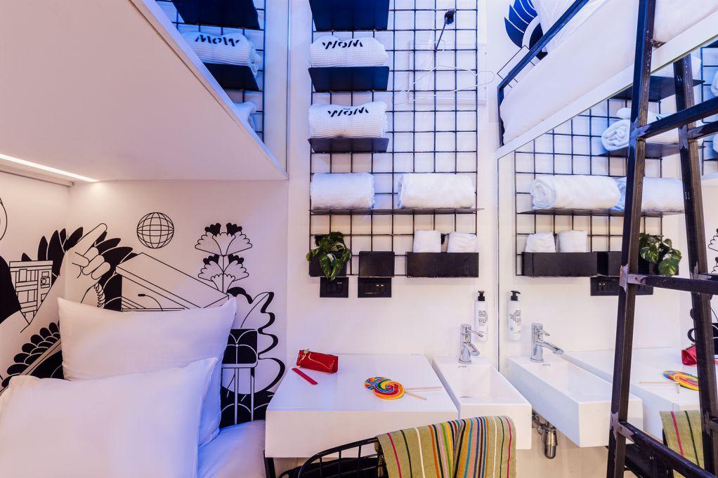 WOM là khách sạn tiên phong thiết kế kiểu pod