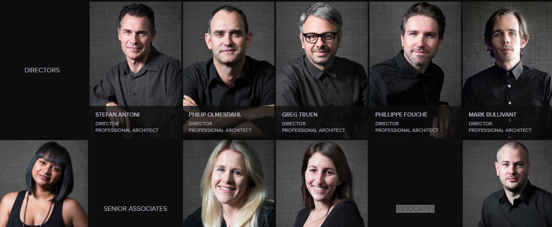 Đội ngũ kiến trúc sư SAOTA