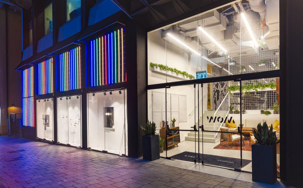 Dự án thiết kế khách sạn WOM Allenby tại Israel